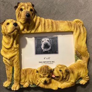 Shar Pei 4x6 picture frame